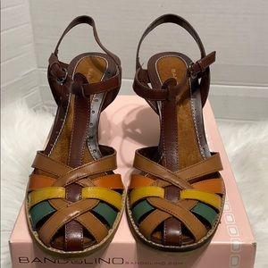 Bandolino women sandal size 9